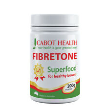 CABOT HEALTH Fibretone Powder 200g Neutral Flavour Superfood for Healthy Bowels
