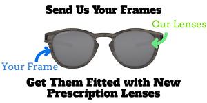 Custom Prescription Lenses for Oakley Latch OO9265 - Rx Replacement Lenses