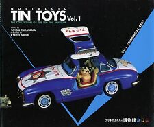 Japanese Tin Toys - Cars Trucks Fire Engines Ambulances Police + Makers / Book