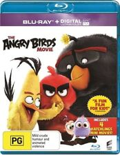 The Angry Birds Movie (Blu-ray, 2016) Brand New Sealed Region B