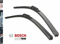 BOSCH AEROTWIN FLAT FRONT WIPER BLADE SET 530/530 MM 21/21 INCH