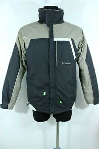 COLUMBIA SPORSTWEAR Multicolor Wind/Water Proof Warm Man Jacket Size Youth 18-20