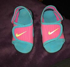 Baby Girl infant 5.5 Nike Pink Sandals Shoes