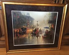 "Framed print ""Charity, Gift Of Love"", G. Harvey - 1989 Focus on the Family"