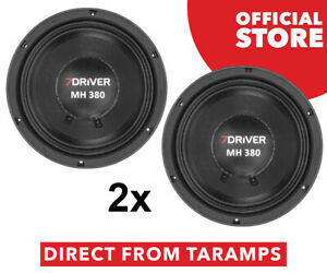 "2x 8"" 7Driver MH 380 8 Ohm 380W RMS Speaker by Taramps Buy Direct From Taramps"