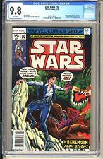 STAR WARS #10  CGC 9.8 WP NM/MT  Marvel Comics 1978  Han Solo (vol 1) Vader