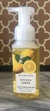 Bath & Body Works-Kitchen Lemon-Gentle Foaming Hand Soap-8.75oz-New