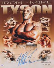 *Sale* Mike Tyson Signed/Autograph 16X20 Ltd Ed. Collage Photo Autographed PSA