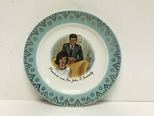President and Mrs John F Kennedy Collectors Plate 6-1/4 ""