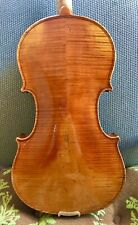 "Beautiful Old Antique 4/4 Violin Labeled ""E.R. Schmidt"" C. 1900"