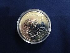 2013 Canada $5.00 Pronghorn Antelope Maple Leaf BU One Ounce .9999  E6112