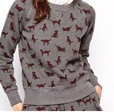 Orla Kiely Puppy Love Dog Sweatshirt Small