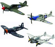 New-Ray Newray 06687S Military Mission WWII Fighter Plane 4-piece Plane Set