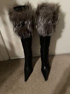 Gianmarco Lorenzi Boots with Fur 36