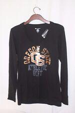 CHAMPION Women's Oregon State University Long Sleeve Shirt ~ Size M~ V-Neck~ NWT