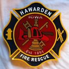 Fire Department Los Angeles County P-Town Engine 184 routed patch sign Carved
