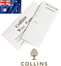 Collins Australian DIY Will Kit Includes 1 Form and Instructions