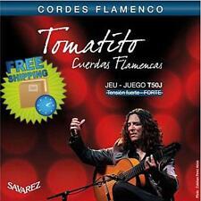 New Savarez T50J  Guitar String Tomatito Cordes Flamenco Tension FUERTE-FORTE Go