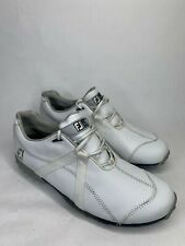 FootJoy M Project Golf Shoes Spikes White Mens 10 M 55151