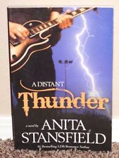 A Distant Thunder A Novel by Anita Stansfield 2008 1STED LDS Mormon Book PB