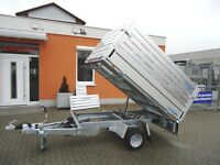 HL Rückwärtskipper, HLNK 1523/141, zGG 1500kg, Abm. 2310 x 1410mm, Laubaufsatz