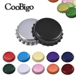 Assorted Colours Beer Bottle Caps No dents for Beer Drink Champagne Accessories