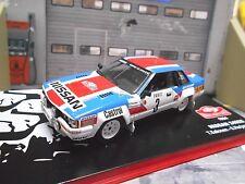 Nissan 240rs 240 RS talla B Rally de Monte Carlo 1984 #3 Salonen dun Ixo Altaya 1:43