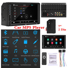 "7"" 2Din HD Touch Screen Bluetooth Car FM Radio Stereo MP5 Player TF USB Aux-In"