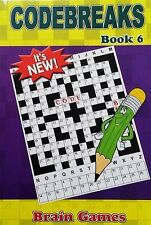 Pocket Puzzles CODEBREAKES book,Enrich Your Word Power, one of the BEST No. 6