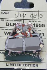 Disney Chip and Dale Adventure Twilight Zone Tower of Terror Attraction Pin