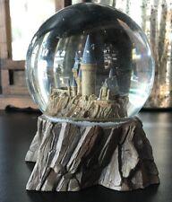 Universal Studios Wizarding World Harry Potter Sculptured Castle Snow Globe New