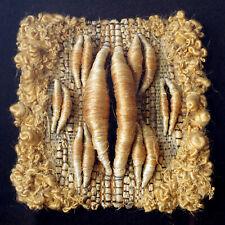 More details for tadek beutlich (polish 1922-2011) mixed media textile sculpture little moon 1974