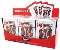 Pocker Playing Card Quality Decks Plastic Coated Original Standard Size