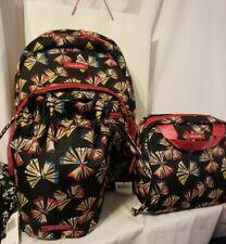 Vera Bradley ART BUTTERFLIES Essential LIGHTEN UP BACKPACK Lunch &Ditty Bag NWT
