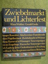DDR Buch Zwiebelmarkt und Lichterfest - DDR Bräuche Feste Karneval Kirmiszug