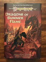 DragonLance Chronicles Dragons of Summer Flame Hickman Weis 1st Edition Printing