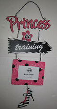 "Hobby Lobby Metal Wall Frame Princess in Training 21.5"" not including chainx10"""