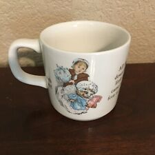 "New ListingBeatrix Potter ""Mrs. Tiggy-Winkle"" Child's Cup ~ Wedgwood of Etruria & Barlaston"