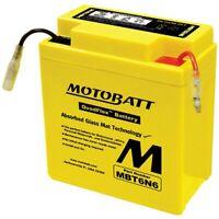 Motobatt Battery For Honda CB125S 125cc 73-80