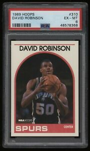 1989-90 David Robinson PSA 6 Hoops Basketball Rookie Rc #310 *NICE* Invest NOW