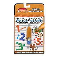 Melissa And Doug On The Go Water Wow Water Numbers Reveal Pad NEW Craft Set