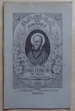 #) vie admirable de Saint François de Sales Marquis de Ségur Paillart Abbeville