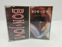 Bon Jovi Cassette Tapes Lot of 2 Slippery When Wet 7800 Fahrenheit Dead or Alive