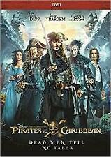 PIRATES OF THE CARIBBEAN DEAD MEN TELL NO TALES DVD