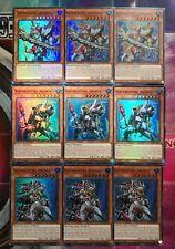 NIXENRÜSTUNG SET-3x Abyssmegalo,3x Abyssteus, 3x Abyssleed,SHVA-DE037 Yu-Gi-Oh