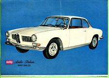 BMW -- BMW 3200 CS -- avec feuille de données -- publicité de 1965 -