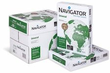Kopierpapier Marke Navigator Universal Papier Druckerpapier 2500 Blatt A4 80g/m²