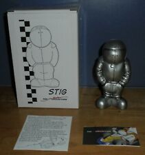 The Jim Bamber Collection Pit Crew ST001 Stig Standing Figure Silver/Pewter