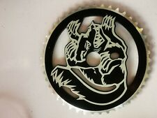 Nos Alloy Mongoose bmx old school sprocket  chainring  44t