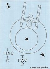 "Star Trek TOS Fanzine ""IDIC Two"" GEN"